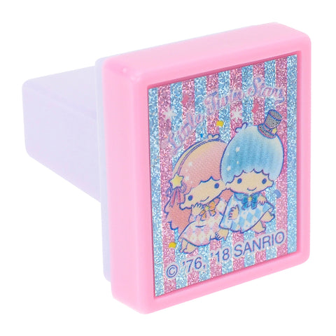 Little Twin Stars Laser Sticker Self-Inking Stamp 鐳射貼紙原子印