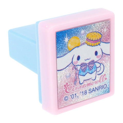 Cinnamoroll Laser Sticker Self-Inking Stamp 鐳射貼紙原子印