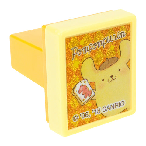 PomPomPurin Laser Sticker Self-Inking Stamp 鐳射貼紙原子印