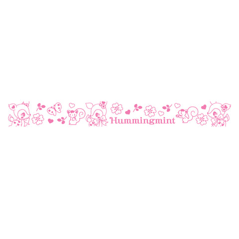 Hummingmint Laser Sticker Self-Inking Rolling Stamp 鐳射貼紙原子滾動印章