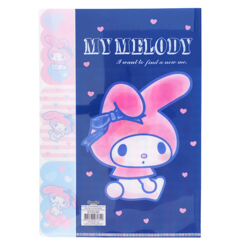 My Melody A4 3-Layer PP file 三合一A4 文件夾