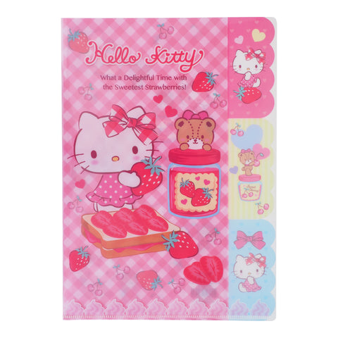 Hello Kitty A4 3-Layer PP file 三合一A4 文件夾