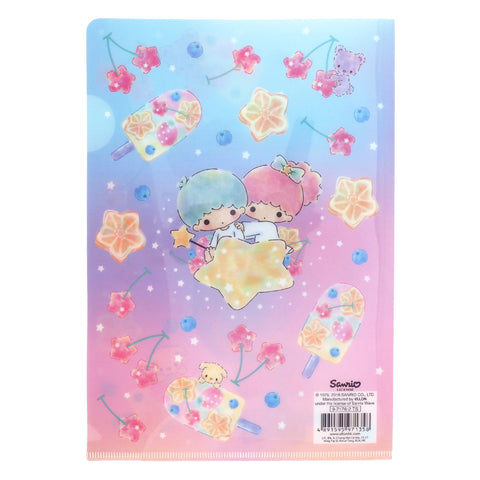 Little Twin Stars A5 PP Slip-In File with Pocket 多用途A5文件夾