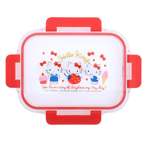 Hello Kitty Glass Food Container 多用途耐熱/冷玻璃餐盒 (1040ML)