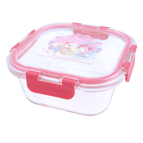 My Melody Glass Food Container 多用途耐熱/冷玻璃餐盒 (800ML)