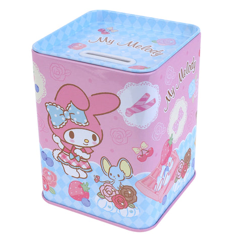 My Melody Tin Coin Bank 鐵錢箱