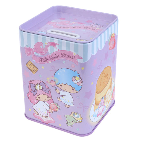 Little Twin Stars Tin Coin Bank 鐵錢箱