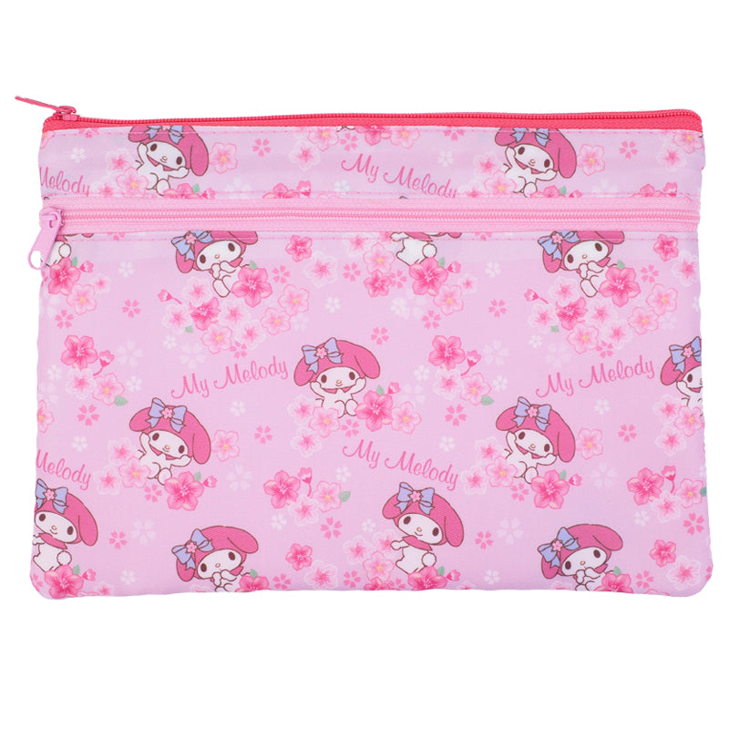 My Melody Double Zipper Pouch 雙層拉鍊袋