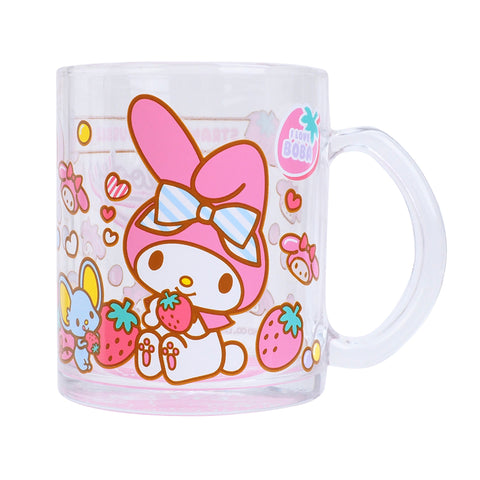 My Melody 350ml Glass Mug 玻璃水杯