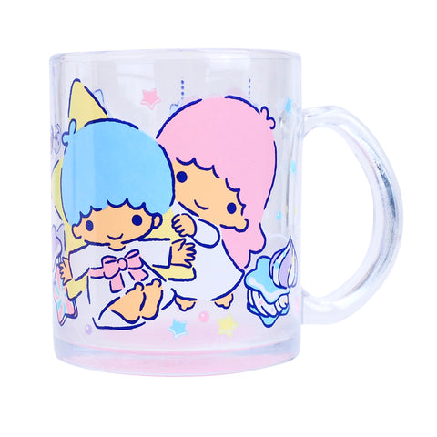Little Twin Stars 350ml Glass Mug 玻璃水杯