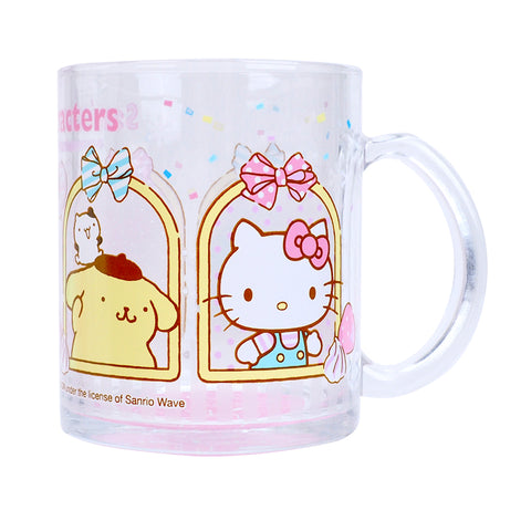 Mix Characters 350ml Glass Mug 玻璃水杯