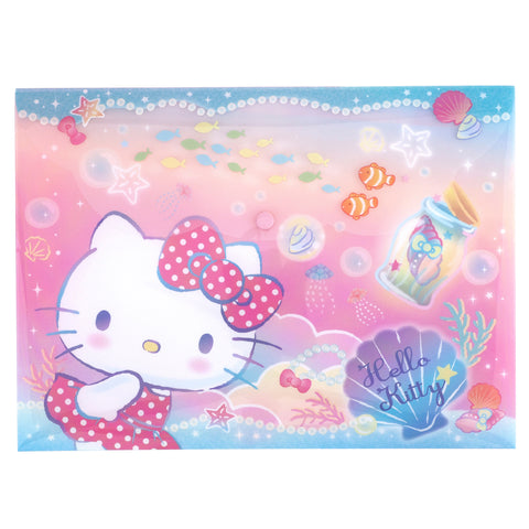 Hello Kitty A4 PP Data Bag 文件袋