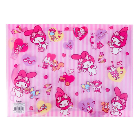 My Melody A4 PP Data Bag 文件袋