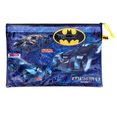 Batman PVC Mesh Bag (Large Size) 文件袋 (大)