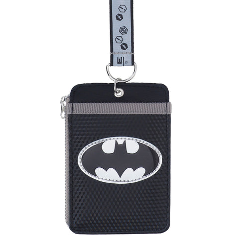Batman Card Holder with Neck Strap 証件套連頸繩