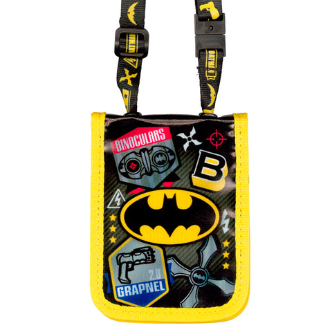 Batman Laminated Fabric Card Holder with Neck Strap 証件套連頸繩