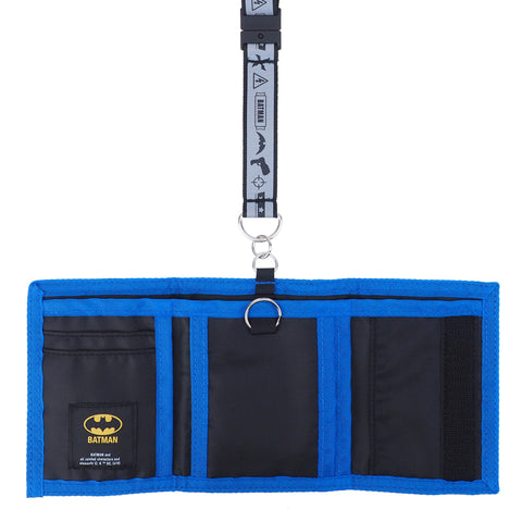 Batman Wallet with Neck Strap 銀包連頸繩