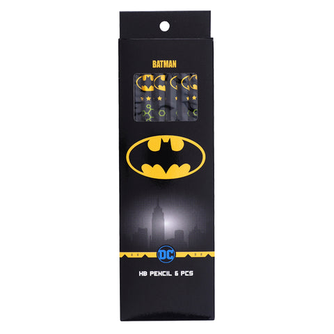 "Batman HB Pencil – Hexagon Shape (6 Pcs) 6支裝""六角形""鉛筆"