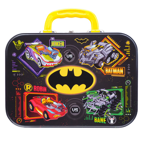 Batman Stationery Set w/ Tin Box 鐵盒文具套裝