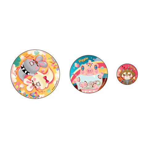 Bunny King Badge Set 胸章套裝