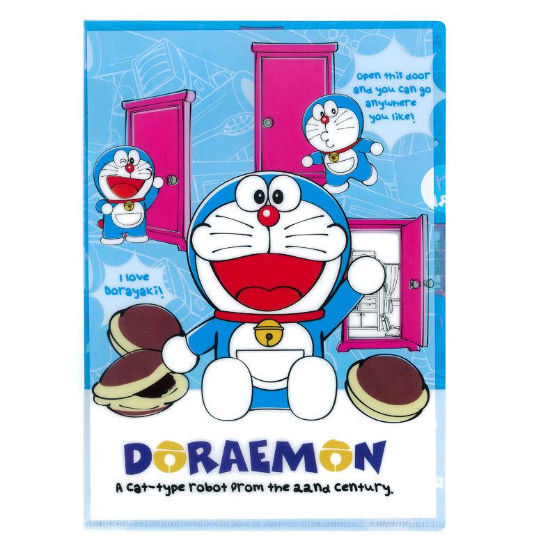 Doraemon A4 PP File 文件夾