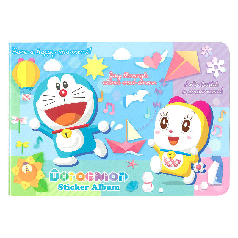 Doraemon Sticker Album With Sticker 貼紙簿連貼紙