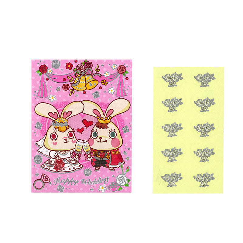 Bunny King Wedding Red Pocket 結婚利是封