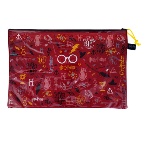 Harry Potter PVC Mesh Bag (Large Size) 文件袋 (大)