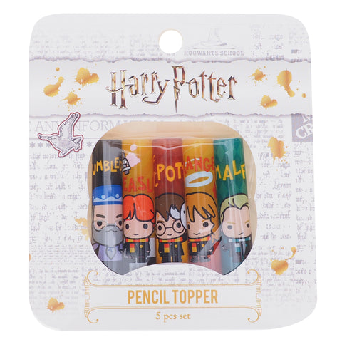 Harry Potter Plastic Pencil Topper (5Pcs/Set) 塑膠鉛筆蓋 (5個裝)