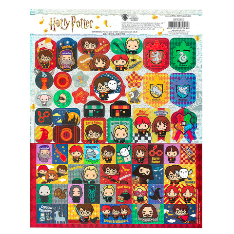 Harry Potter Laser Paper Sticker 鐳射貼紙