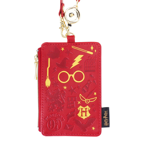 Harry Potter PU Card Holder w/ Retractable Strap 証件套連伸縮扣手帶