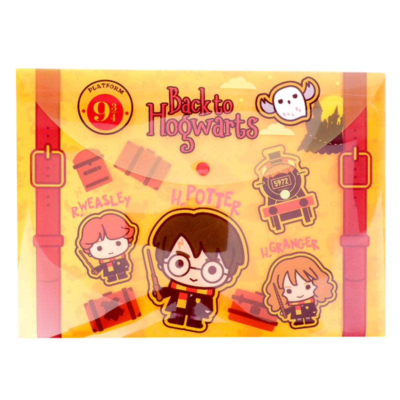 Harry Potter A4 PP Data Bag 文件袋