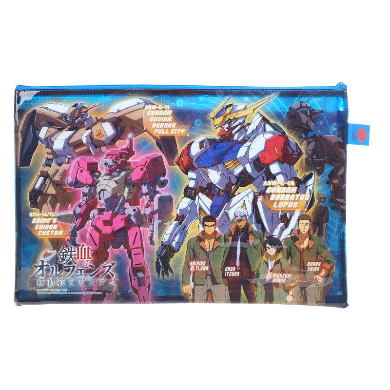 Gundam Iron-Blooded Orphans PVC Mesh Bag (Large Size) 文件袋 (大)