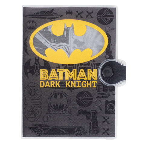 Batman Glitter PVC Passport Holder 閃紗料面証件套