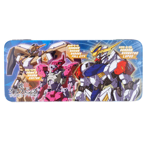 Gundam Iron-Blooded Orphans Tin Pencil Case 鐵筆盒
