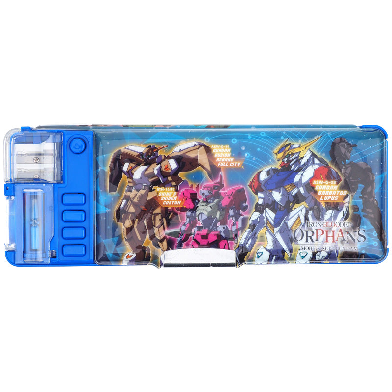 Gundam Iron-Blooded Orphans Magic Plastic Pencase 魔術按掣筆盒