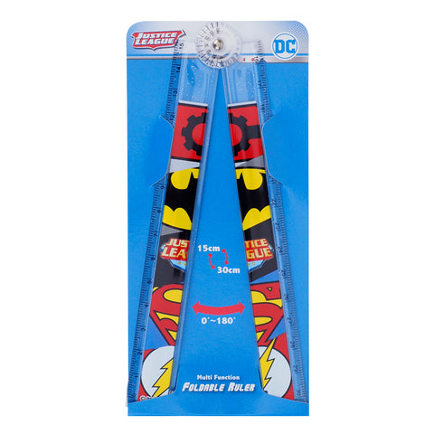 Justice League Multi-Function Foldable Ruler 多用途折疊尺