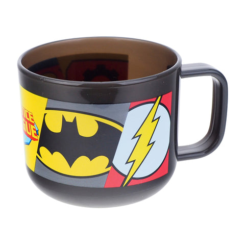 Justice League 225ml Plastic Cup 有蓋膠水杯