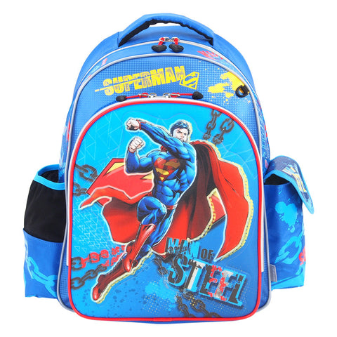 Superman Glitter Cover EVA School Bag (L) 小童閃紗書包 (大)
