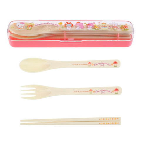 Mix Characters Cutlery Set 餐具套裝