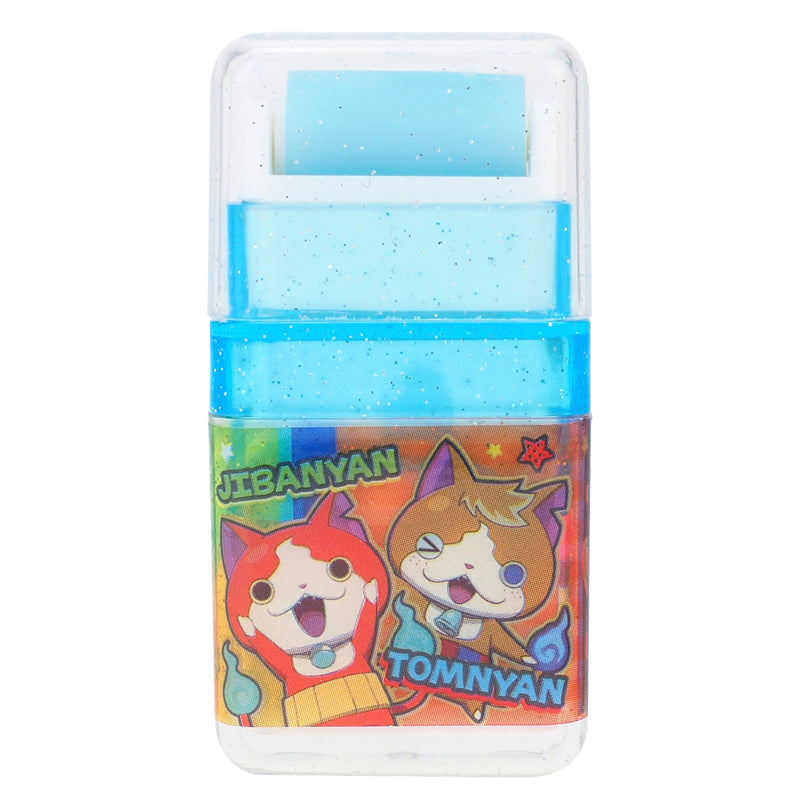 Yokai Watch PVC Free Eraser With Roller Cleaner 擦膠附帶滾輪 (不含塑化劑)