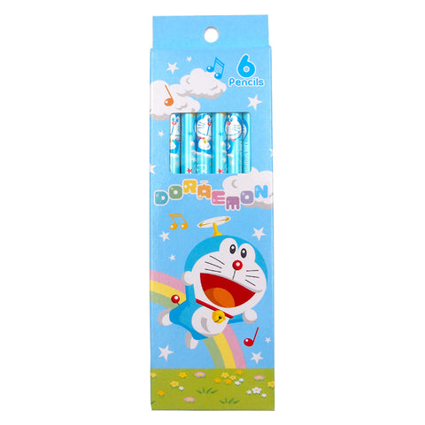 Doraemon 6 Pencil (6 PCS) 6支裝鉛筆