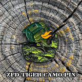 ZFD Limited Edition Pin - Tiger Camo