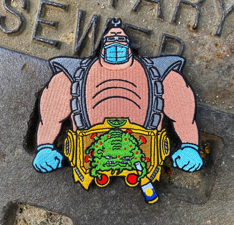 Dangerous Goods Corona Krang Morale Patch