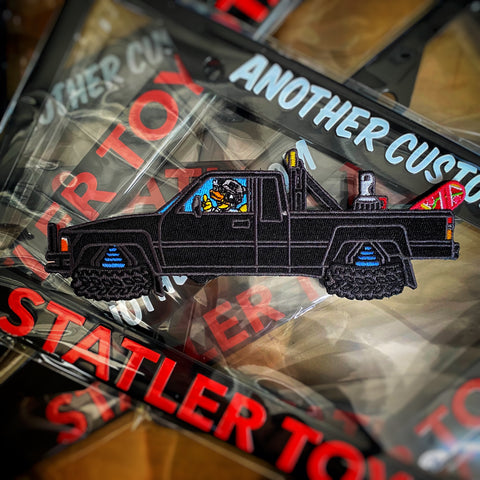 "'Duck To The Future' ZFD McFly 7"" Statler SR-5 Morale Patch Series"