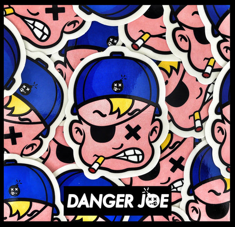 'DANGER JOE' SERIES MORALE STICKER - CLASSIC