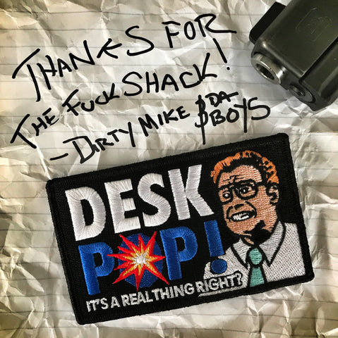 "The Other Guys ""DESK POP"" Velcro Backed Morale Patch"