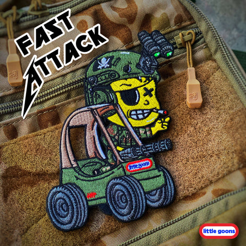 Danger Joe Little Goons™️ Fast Attack Cozy Kart Patch
