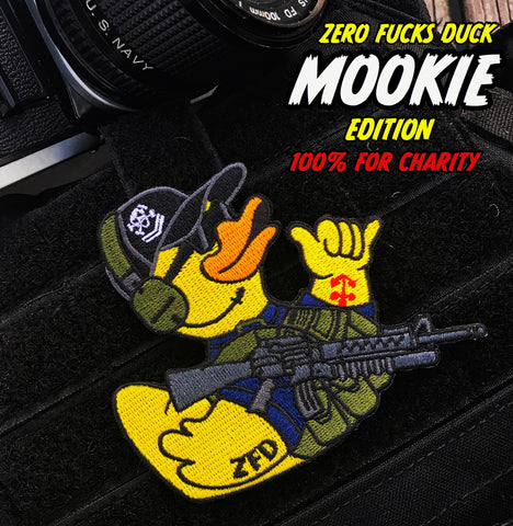 Zero Fucks Duck ZFD Morale Patch - Mookie Edition