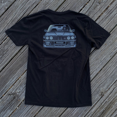 Dangerous Goods X M3 Goons MPower Vader Black E30 M3 T-Shirt
